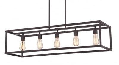Eettafel hanglamp industrieel